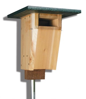 Troyer's Sparrow-resistant Bluebird House Combo Kit