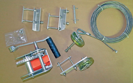 Winch Conversion Kit (For Deluxe)