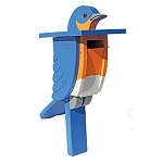 Painted Bluebird House