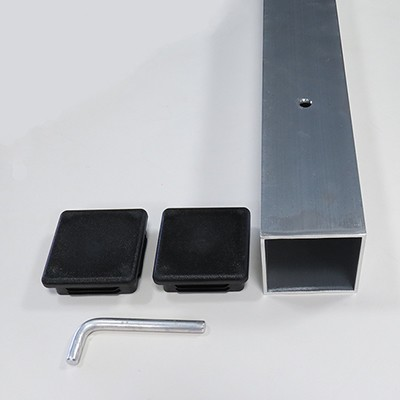 Sleeve and parts for a 3-inch square gourd rack