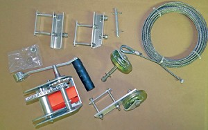 Conversion Kit shown with Brake Winch